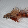 Vernon's Red Rodeo Minnow Fly